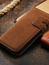 Luxury wallet leather case for Galaxy S4 Latest stand cover for Samsung i9500  (Assorted colors)