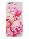 Para iPhone 8 iPhone 8 Plus iPhone 7 iPhone 7 Plus iPhone 6 iPhone 6 Plus Case Tampa Estampada Capa Traseira Capinha Flor Rigida PC para