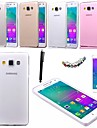 KARZEA™ 0.05mm Ultrathin Transparent TPU Back Case with Screen Protector+Stylus for Samsung Galaxy A3(Assorted Color)