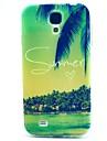 용 삼성 갤럭시 케이스 패턴 케이스 뒷면 커버 케이스 풍경 TPU Samsung S4 Mini