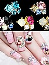 5 Nail Jewelry Glitter & Poudre Classic Lovely Wedding Daily Classic Lovely Wedding High Quality