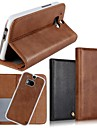 2 In 1 Top Quality Genuine Leather Wallet Case with Stand Cover for HTC M8 (Assorted Colors)