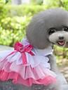 novo estilo amável serveral vestido de princesa em camadas no verão para animais de estimação cães