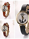 Women  Leath Anchor   Leather Quartz Wristwatches  (Assorted Colors) Cool Watches Unique Watches