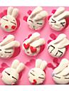 mignon de bande dessinee beau lapin moules a gateau fondant au chocolat moule pour la cuisson de la cuisine pour du sucre candi