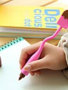 Boligrafo Boligrafo Boligrafos Boligrafo,Silicona Barril Negro colores de tinta For Suministros de la escuela Material de oficina Paquete