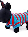 Chat Chien Tee-shirt Vetements pour Chien Rayure Coton Costume Pour les animaux domestiques
