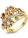 Женский Массивные кольца Кристалл Мода бижутерия Сплав Бижутерия Назначение Для вечеринок