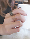 Ring N/A Jewelry Alloy Women Statement Rings 1set
