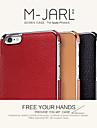Для Кейс для iPhone 6 / Кейс для iPhone 6 Plus Other Кейс для Задняя крышка Кейс для Один цвет Твердый Искусственная кожаiPhone 7 Plus /