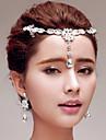 Женский Стразы Титан Заставка-Свадьба Особые случаи на открытом воздухе Цепочка на голову