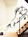 Животные Наклейки Простые наклейки Декоративные наклейки на стены,Винил материал Съемная Украшение дома Наклейка на стену