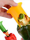 2 Pieces Seed Remover For Vegetable Stainless Steel Creative Kitchen Gadget / Novelty