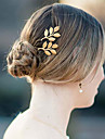 Headwear Hair Pin Barrette with Floral 1pc Wedding Special Occasion Casual Headpiece