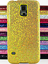 Case For Samsung Galaxy Samsung Galaxy Case Embossed Back Cover Glitter Shine PC for S5