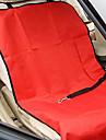 Собака Чехол для сидения автомобиля Животные Коврики и подушки Твердый Водонепроницаемость Складной Серый Кофейный