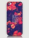 Для Кейс для iPhone 5 Чехлы панели С узором Задняя крышка Кейс для Цветы Твердый PC для iPhone SE/5s iPhone 5