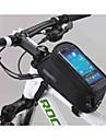 Бардачок на раму Сотовый телефон сумка 5.5 дюймовый Сенсорный экран Многофункциональный Велоспорт для Samsung Galaxy S6 LG G3 iPhone X