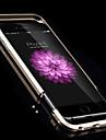 máquina de precisão de alta qualidade protetor de armação de metal trabalhando para iphone 6 (cores sortidas)