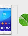 Protecteur d\'ecran Sony pour Sony Xperia M4 Aqua PET 1 piece Extra Fin