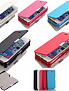 PU Leather Cover Case for iPhone 5/5S (Assorted Colors)