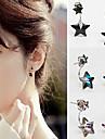 HUALUO®Fashion Pentagram Crystal Earrings