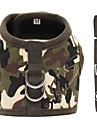 Dog Harness Dog Clothes Casual/Daily Camouflage Camouflage Color Leopard