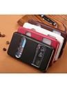용 삼성 갤럭시 케이스 스탠드 / 윈도우 / 플립 / 엠보싱 텍스쳐 케이스 풀 바디 케이스 단색 인조 가죽 용 SamsungS7 edge / S7 / S6 edge plus / S6 edge / S6 / S5 Mini / S5 / S4 Mini