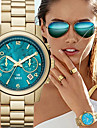 Fashion Women\'s Watch Quartz Strap Watch Gold Wrist Watch Cool Watches Unique Watches