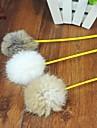 Cat Toy Pet Toys Teaser Feather Toy Stick Textile