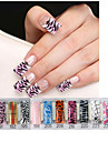Flower Lovely Wedding Nail Tips False Nails Nail Art Salon Design Makeup Cosmetic