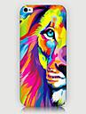 цвет задней крышки случая спины телефона льва для iphone5c iphone случаев