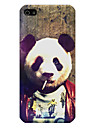 The Giant Panda Pattern Phone Back Case Cover for iPhone5C