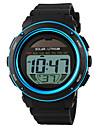 SKMEI® Men\'s Solar Battery LCD Digital Sport Watch Fashion Sporty Stopwatch Cool Watch Unique Watch
