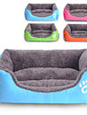 Cat Dog Bed Pet Mats & Pads Solid Waterproof Cute Orange Rose Green Blue For Pets