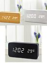 Digital Wood Alarm clock,LED
