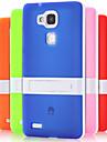 Coque Pour Huawei Huawei Mate 7 Coque Huawei Avec Support Coque Couleur unie Dur TPU pour Huawei Mate 7 Huawei