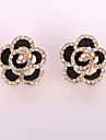 New Fashion Drops Of Oil Rose   Clip Earrings Wedding/Party/Daily/Casual 2pcs