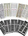 ขนตาปลอม False Eyelashes 200 pcs Volumized ความหงิก ยาวพิเศษ ไมโครไฟเบอร์ ทุกวัน ขนตาเต็มเส้น ซิกแซก หนา - แต่งหน้า เมคอัพประจำวัน เมคอัพปาร์ตี้ เมคอัพแคทอาย ประทิ่น Grooming Supplies