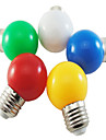 1W 100-150 lm E26/E27 LED Globe Bulbs G45 5 leds SMD 2835 Decorative Natural White Green Yellow Blue Red AC 220-240V