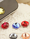 Resin Home Button Sticker for iPhone 8 7 Samsung Galaxy S8 S7(Random Color)