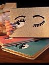 아이 패드 미니 1 / 미니 2 / 미니 3 (모듬 색상)에 대한 스탠드 매력적인 큰 눈 PU 보호 케이스 커버