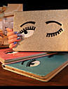 encantador olhos grandes pu tampa da caixa protetora com suporte para iPad mini 1 / mini-2 / mini-3 (cores sortidas)