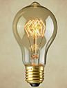1pc 40W E27 E26/E27 E26 A60(A19) Blanc 2300 K Ampoule incandescente Edison Vintage Incandescent AC110-240 AC 110-220 AC 110-130V AC