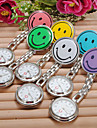 Women's Watch Fashion Colorful Smiling Face Pattern Nurse Watch Cool Watches Unique Watches