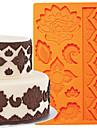ferramentas de decoracao do bolo global de fondant e goma colar molde beira bolo de molde de silicone fm-03