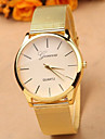 Women\'s Quartz Wrist Watch Casual Watch Alloy Band Charm Dress Watch Fashion Gold