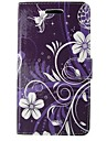 For Sony Case / Xperia Z3 Wallet / Card Holder / with Stand / Flip Case Full Body Case Flower Hard PU Leather for SonySony Xperia Z3 /