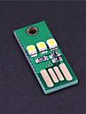 0.2W 20lm 미니 wy003의 USB 3 백색 LED 조명 캠핑 램프