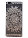 For Huawei Case / P8 Lite Frosted Case Back Cover Case Mandala Hard PC Huawei Huawei P8 Lite